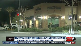 Pizza Press closes in Northwest Bakersfield