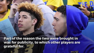 "Youngest Ball Brothers Expected To Play ""A Lot Of Minutes"" In Lithuania - Video"