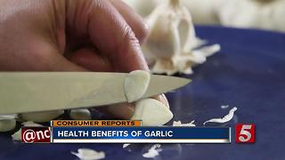 Learn About The Health Benefits Of Garlic - Video