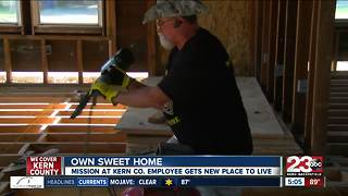 Man gets his dream home with the help of a local organization - Video