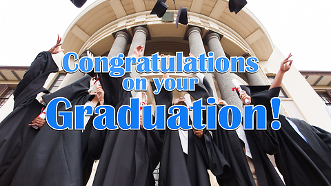 Congratulations on your Graduation! Greeting Card 2