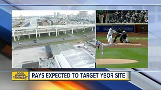 Tampa Bay Rays to announce Ybor City as preferred site for new stadium - Video