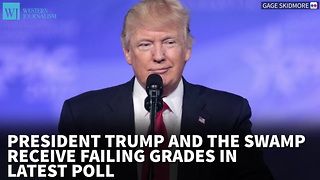 President Trump And The Swamp Receive Failing Grades In Latest Poll - Video
