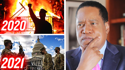 Democrats' Double Standards; Capitol Riots Hypocrisy | Larry Elder
