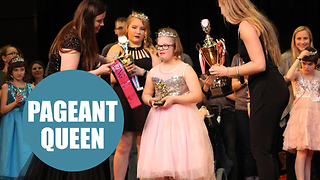 Teenager with Down Syndrome crowned Miss Amazing America - Video