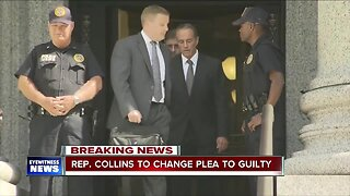 Rep. Collins to change plea to guilty