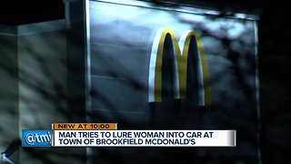 Woman says she was nearly abducted at Brookfield McDonald's