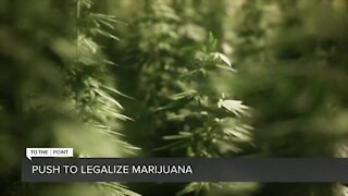The push to legalize recreational marijuana