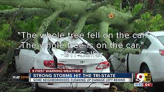 Severe weather passes through Tri-State - Video