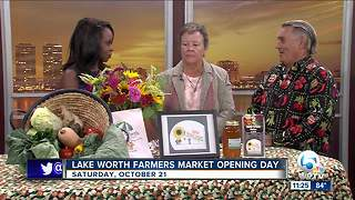 Lake Worth Farmers Market opens Oct. 21 - Video
