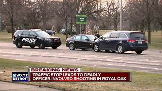 Suspect killed in officer involved shooting involving Royal Oak police