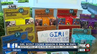 Girl Scout Cookie season returns to Southwest Florida - 7am live report