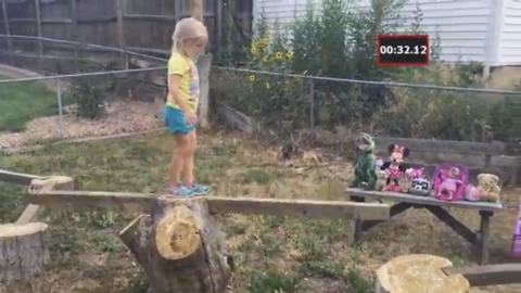 This Mini-Ninja Warrior Will Melt Your Heart!