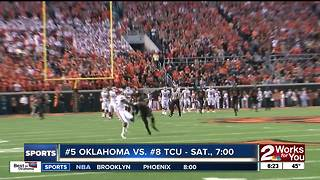 Baker Mayfield calls on Sooner fans to rock Memorial Stadium for TCU game - Video
