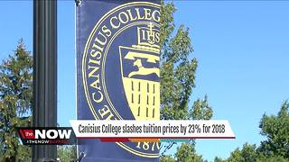 Canisius College slashes tuition prices - Video