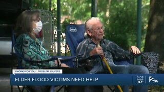 Elder flood victims need help