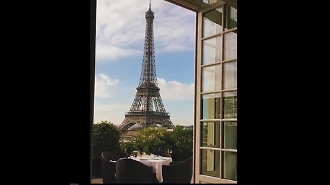 World's Best Hotel View Ever! 🇫🇷