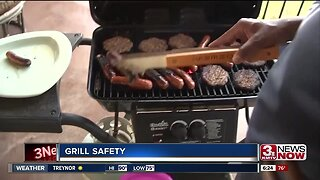 Summer safety grilling tips