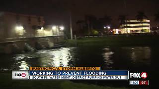 South Florida Water Management are working to prevent flooding - Video