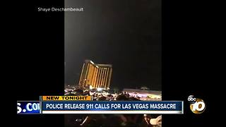 Police release 911 calls for Las Vegas Massacre - Video