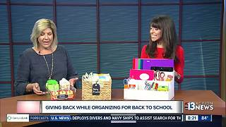 Back to School Organization - Video