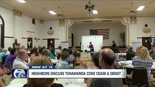 Neighbors discuss Tonawanda Coke cease and desist - Video