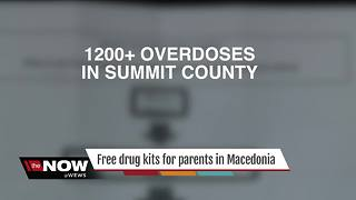 Free drug testing kits for parents in Macedonia - Video