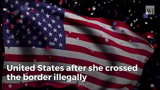 Caravan Member Gives Birth on US Soil After Illegally Crossing Border