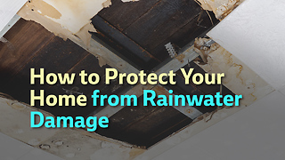 How to Protect Your Home from Rainwater Damage - Video
