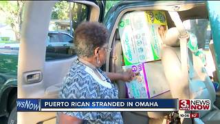 Puerto Rican woman stranded in Omaha - Video