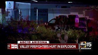 Eight firefighters injured in Surprise explosion