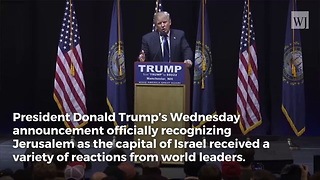 Trump Makes Israel Decision, That's When Pope Francis Makes a Move - Video