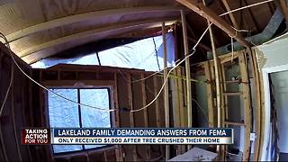 Lakeland family demanding answers from FEMA - Video