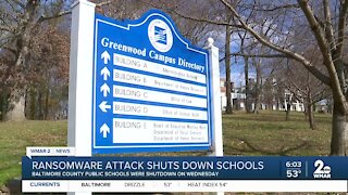 Ransomware attack shuts down Baltimore County Public Schools on Wednesday