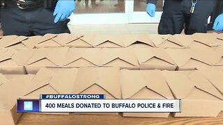 Special delivery for those on the Buffalo front lines