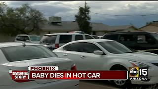 Authorities release name of 1-year-old boy killed in hot car - Video
