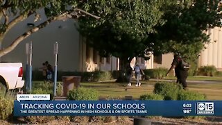Tracking COVID in Arizona schools