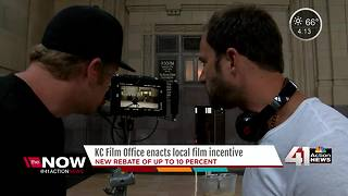 Kansas City Film Office increases incentive for studios to bring projects to KC - Video