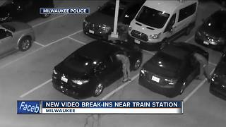 'It's upsetting': Amtrak commuters upset after thieves break into cars - Video