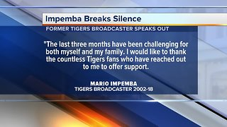 Mario Impemba breaks silence on Tigers gig