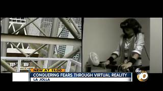 Conquering fears through virtual reality