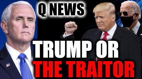 Who Will Win The BATTLE FOR OUR REPUBLIC - President Trump OR The Traitor?