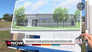 City of Independence breaks ground on new communications center - Video