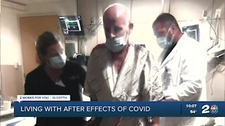 Living with after effects of COVID-19
