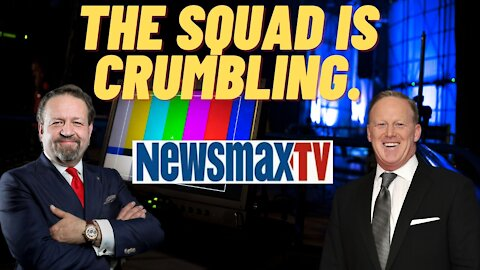 The Squad is Crumbling. Sebastian Gorka with Sean Spicer on Newsmax
