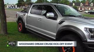Ford Performance at Dream Cruise kick off - Video