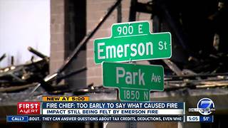 Cause of massive Emerson construction fire in Denver still unknown, fire chief says - Video