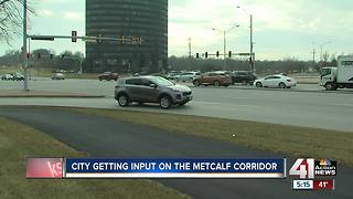 Overland Park getting input on the Metcalf College Corridor - Video