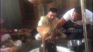 Will Smith spotted performing Hindu ritual in the Indian Himalayas