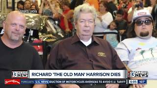 Former Mayor Oscar Goodman weighs in on the loss of Richard 'The Old Man' Harrison - Video